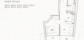 One-pearl-bank-1-bedroom-unit-floor-plan-b3a-singapore