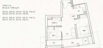 One-pearl-bank-2-bedroom-unit-floor-plan-c1-singapore