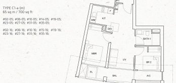 One-pearl-bank-2-bedroom-unit-floor-plan-c1a-singapore