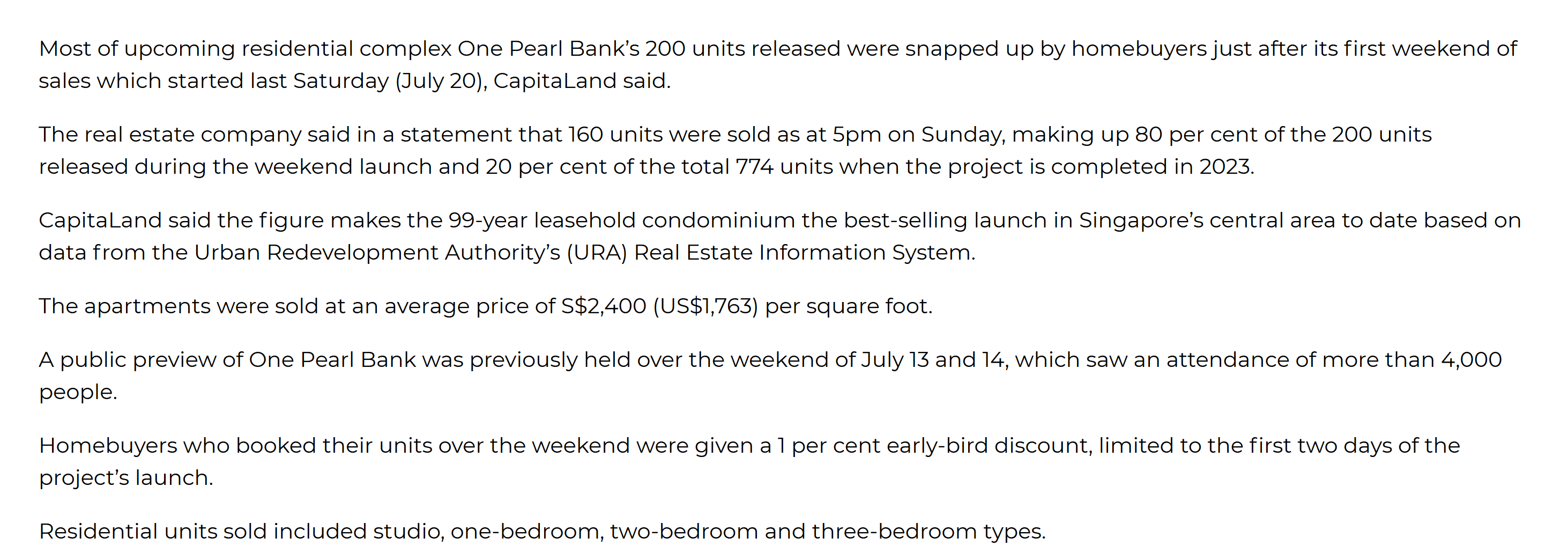 One-pearl-bank-80%-sold-news-singapore-1